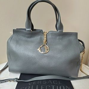 Versace leather bag